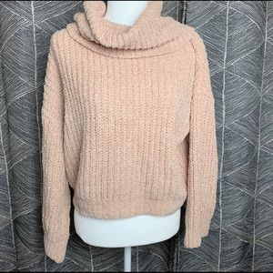 cozy small turtleneck fall sweater Express